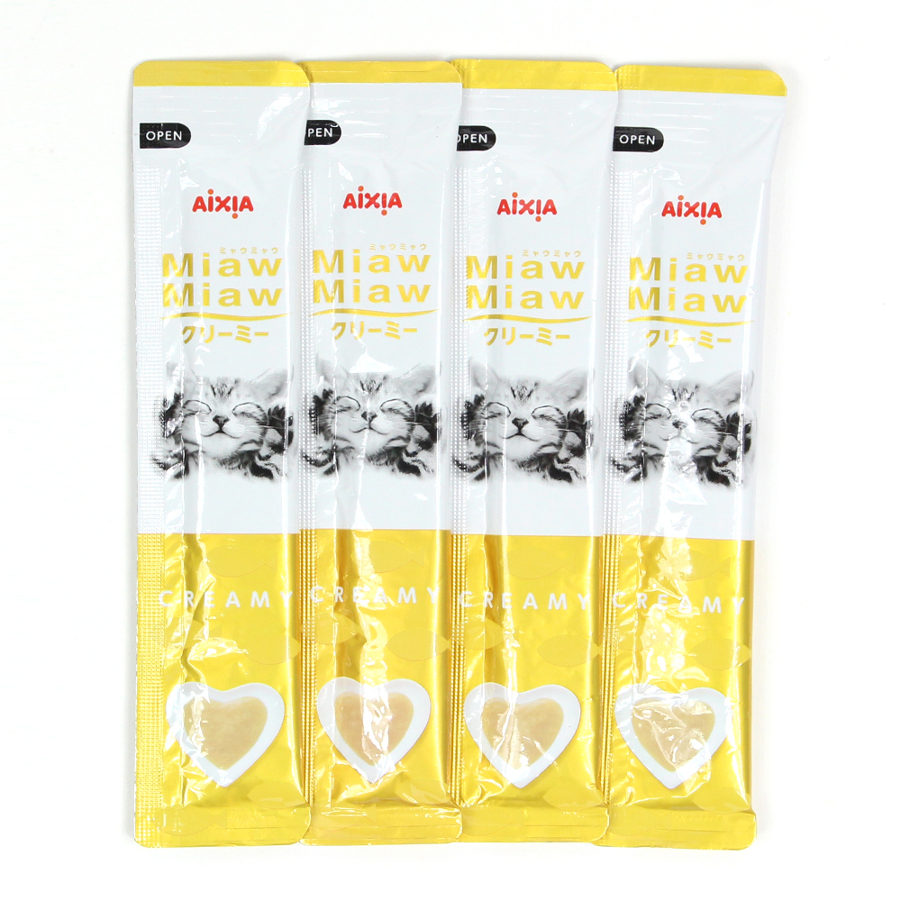 아이시아 먀우먀우 크리미 참치맛 15g x 4개
