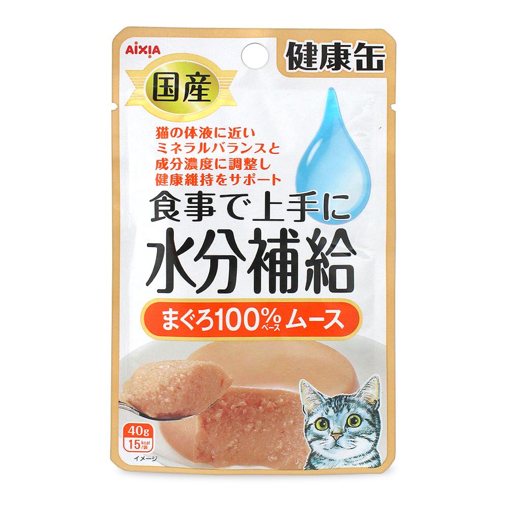 아이시아 고양이 파우치 수분보충 참치 무스 40g