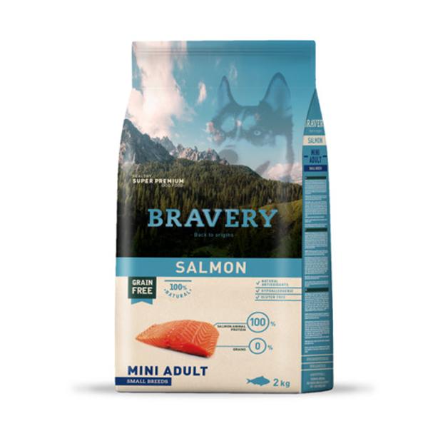 브레이버리 연어 어덜트 사료 2kg