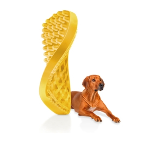 펫플러스미 강아지 실리콘 브러쉬 단모용