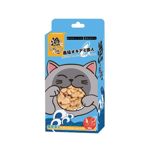 탐하는고양이 간식 캣민트 연어 비스켓 90g