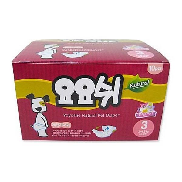 요요쉬 애견기저귀 여아용 3단계 M 10매
