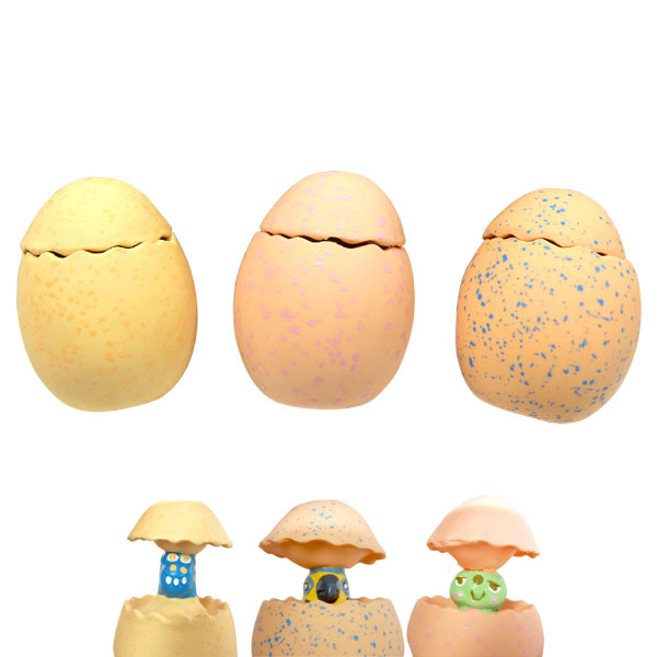 칼리 라텍스 장난감 쥬라기 에그 (색상랜덤)