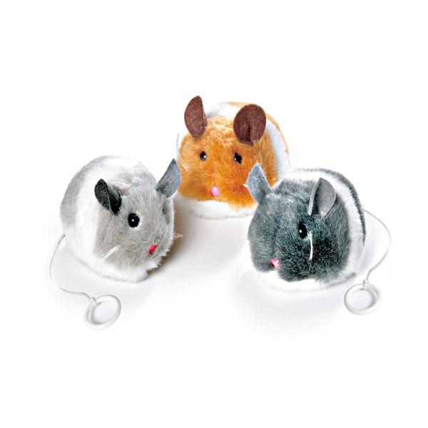 칼리플라밍고 고양이 쥐 장난감 제리(색상랜덤)